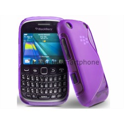 Funda Gel Tpu Blackberry Curve 9320 9220 Bb9320 Bb9220 S Line Color Morada