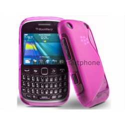 Funda Gel Tpu Blackberry Curve 9320 9220 Bb9320 Bb9220 S Line Color Rosa