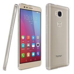 Funda Gel Tpu Fina Ultra-Thin 0,3mm Transparente para Huawei Honor 5X