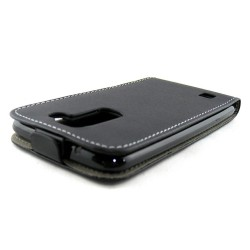 Funda Piel Premium Ultra-Slim Lg K7 Negra