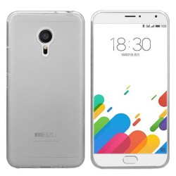 Funda Gel Tpu Meizu Metal Color Tranparente