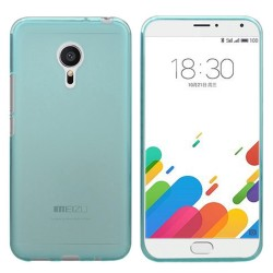 Funda Gel Tpu Meizu Metal Color Azul