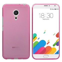 Funda Gel Tpu Meizu Metal Color Rosa