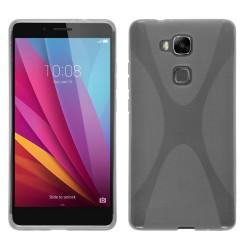 Funda Gel Tpu para Huawei Honor 5X X Line Color Transparente