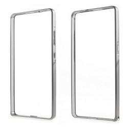 Funda Bumper Plata Aluminio para Huawei Honor 7