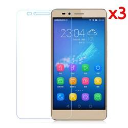 3x Protector Pantalla Ultra-Transparente para Huawei Honor 5X