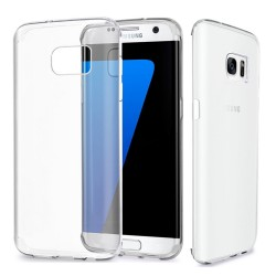 Funda Gel Tpu Fina Ultra-Thin 0,3mm Transparente para Samsung Galaxy S7 Edge