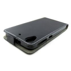 Funda Piel Premium Ultra-Slim HTC Desire 626 Negra