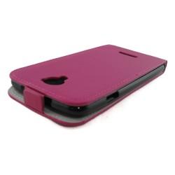 Funda Piel Premium Ultra-Slim Coolpad Modena Rosa