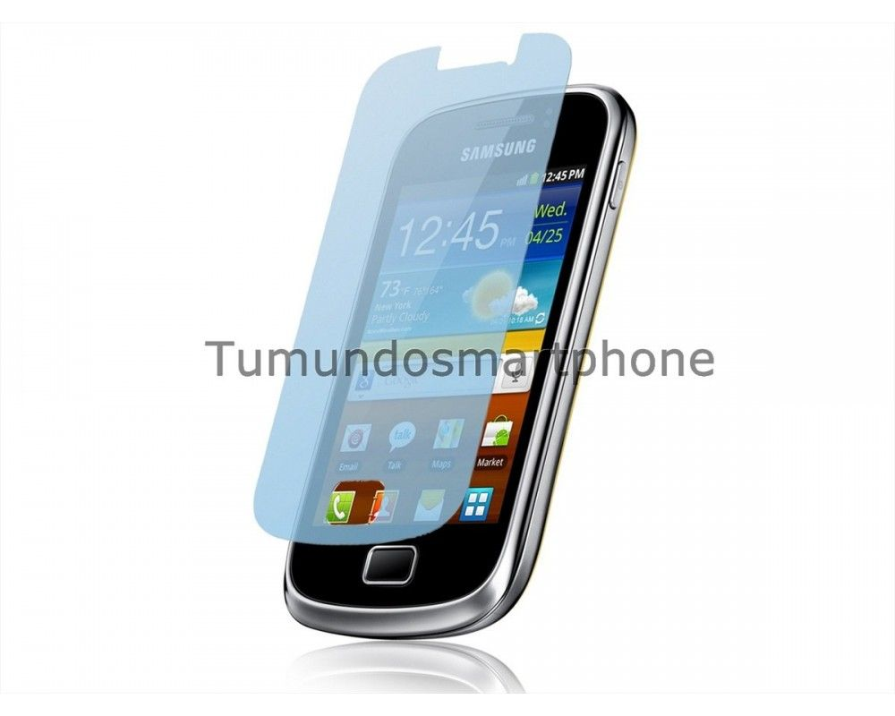 3 X Protector Pantalla Samsung Galaxy Mini 2 S6500