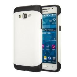 Funda Tipo Neo Hybrid (Pc+Tpu) Negra / Blanca  para Samsung Galaxy Grand Prime G530