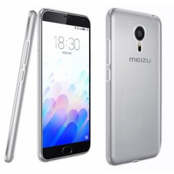 Funda Gel Tpu Fina Ultra-Thin 0,3mm Transparente para Meizu M3 Note