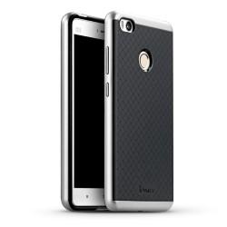 Funda Tipo Neo Hybrid (Pc+Tpu) Negra / Plata para Xiaomi Mi 4S