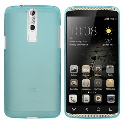 Funda Gel Tpu Zte Axon Mini Color Azul