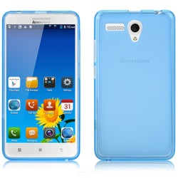 Funda Gel Tpu Lenovo A616 Color Azul
