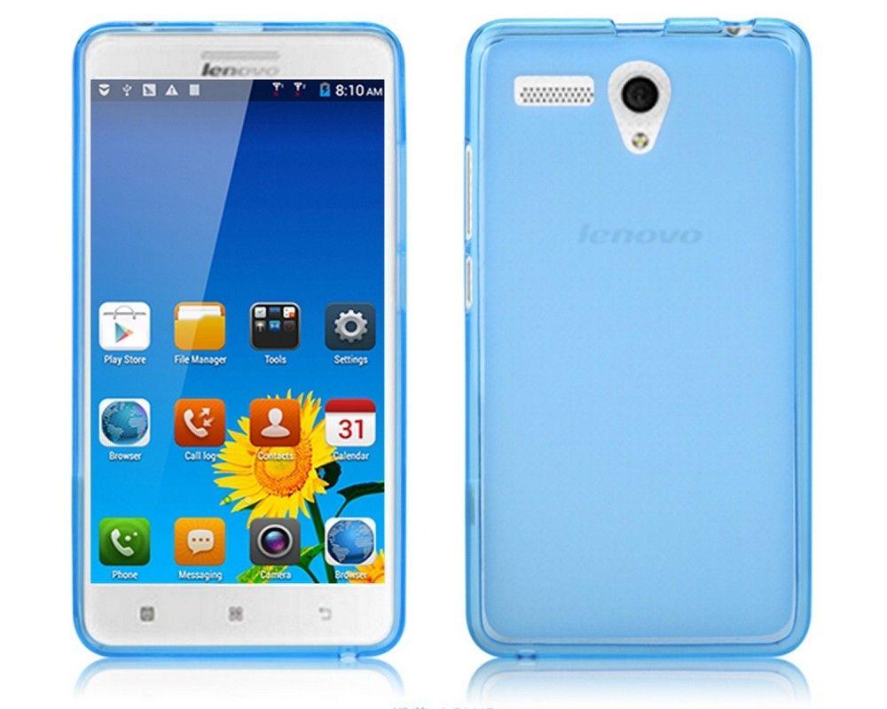 Funda Gel Tpu Lenovo A616 Color Azul