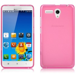 Funda Gel Tpu Lenovo A616 Color Rosa