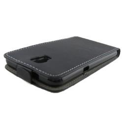 Funda Piel Premium Ultra-Slim Lg X Screen Negra