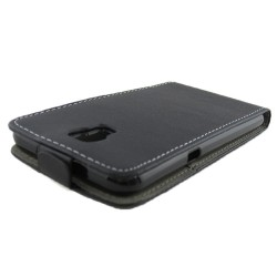 Funda Piel Premium Ultra-Slim Lg X Screen Negra