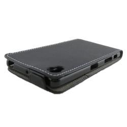 Funda Piel Premium Ultra-Slim Sony Xperia X Negra