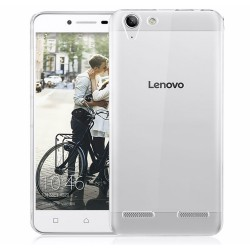 Funda Gel Tpu Fina Ultra-Thin 0,3mm Transparente para Lenovo K5