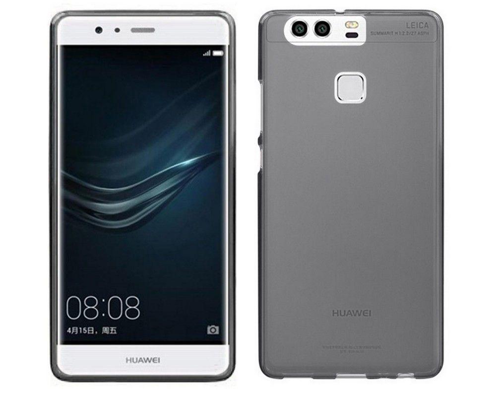 Funda Gel Tpu Huawei P9 Color Negra