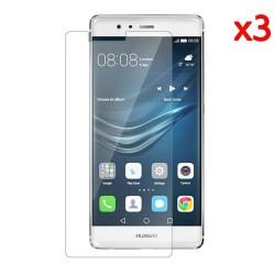 3x Protector Pantalla Ultra-Transparente para Huawei P9