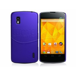 Carcasa Dura Lg Google Nexus 4 E960 Color Azul