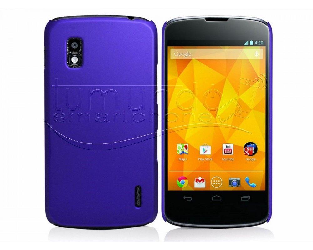 Carcasa Dura Lg Google Nexus 4 E960 Color Azul