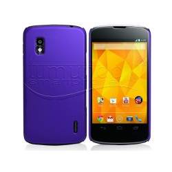 Carcasa Dura Lg Google Nexus 4 E960 Color Morada