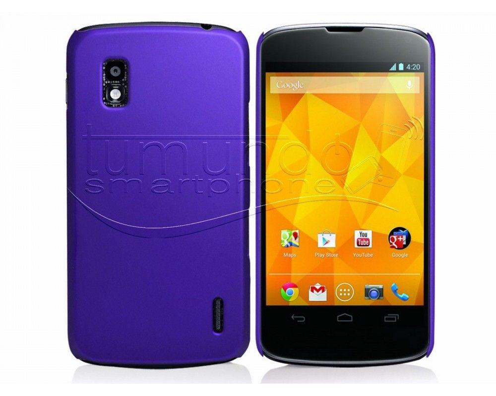 Carcasa Dura Lg Google Nexus 4 E960 Color Morada