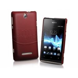 Carcasa Dura Sony Xperia E Color Roja
