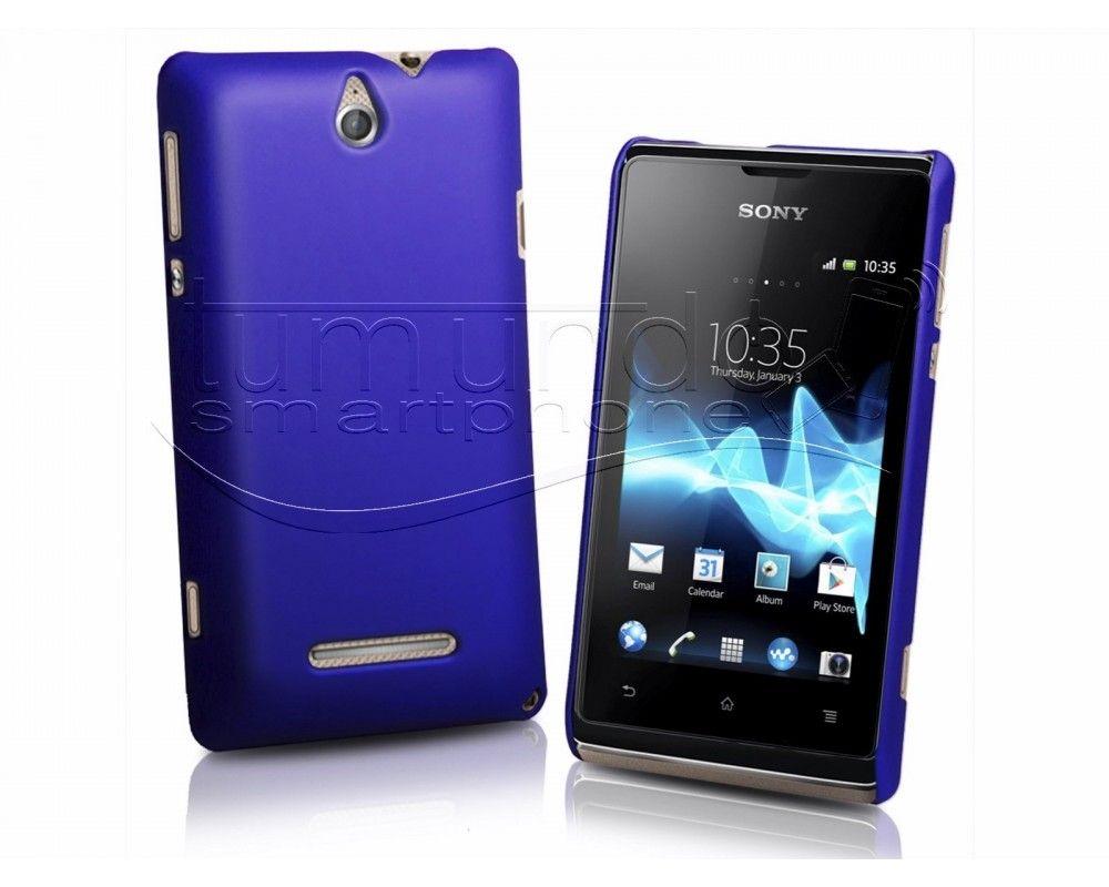 Carcasa Dura Sony Xperia E Color Azul