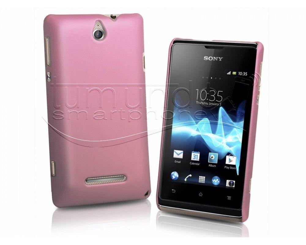 Carcasa Dura Sony Xperia E Color Rosa