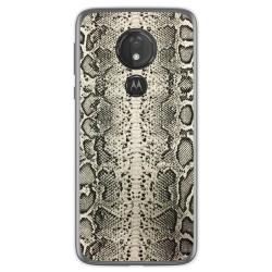 Funda Gel Tpu para Motorola Moto G7 Power diseño Animal 01 Dibujos