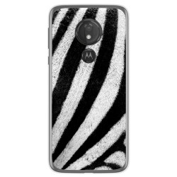 Funda Gel Tpu para Motorola Moto G7 Power diseño Animal 02 Dibujos