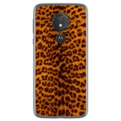 Funda Gel Tpu para Motorola Moto G7 Power diseño Animal 03 Dibujos
