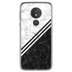 Funda Gel Tpu para Motorola Moto G7 Power diseño Mármol 01 Dibujos