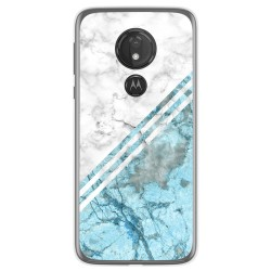 Funda Gel Tpu para Motorola Moto G7 Power diseño Mármol 02 Dibujos