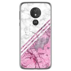 Funda Gel Tpu para Motorola Moto G7 Power diseño Mármol 03 Dibujos