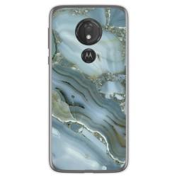 Funda Gel Tpu para Motorola Moto G7 Power diseño Mármol 09 Dibujos