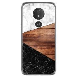 Funda Gel Tpu para Motorola Moto G7 Power diseño Mármol 11 Dibujos