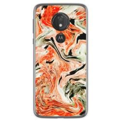 Funda Gel Tpu para Motorola Moto G7 Power diseño Mármol 12 Dibujos
