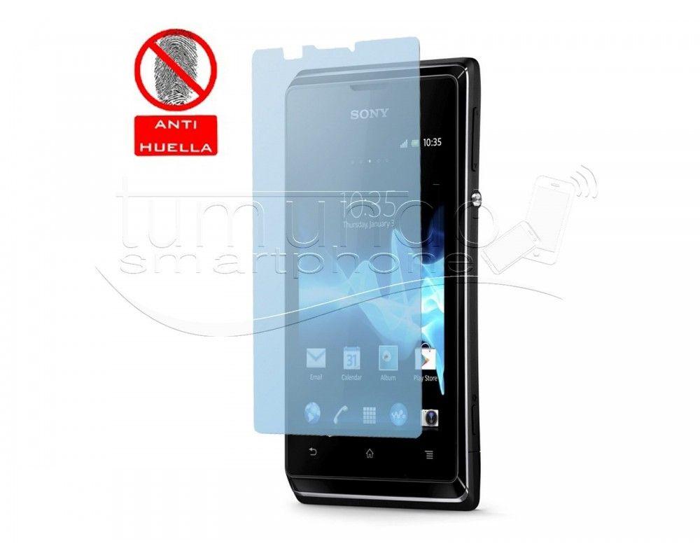 3 X Protector Pantalla Anti-Glare Sony Xperia E