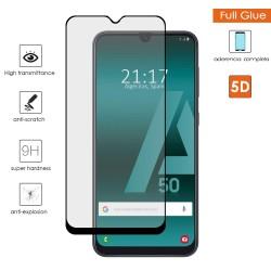 Protector Cristal Templado Completo Full Glue Negro para Samsung Galaxy A50 / A50s / A30s