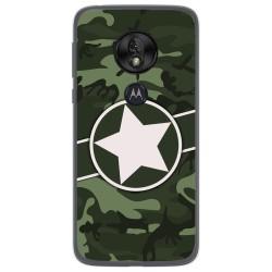 Funda Gel Tpu para Motorola Moto G7 Play diseño Camuflaje 01 Dibujos