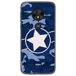 Funda Gel Tpu para Motorola Moto G7 Play diseño Camuflaje 03 Dibujos