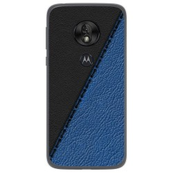 Funda Gel Tpu para Motorola Moto G7 Play diseño Cuero 02 Dibujos