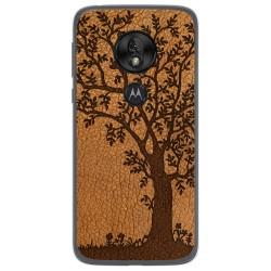 Funda Gel Tpu para Motorola Moto G7 Play diseño Cuero 03 Dibujos