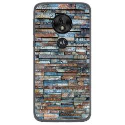 Funda Gel Tpu para Motorola Moto G7 Play diseño Ladrillo 05 Dibujos